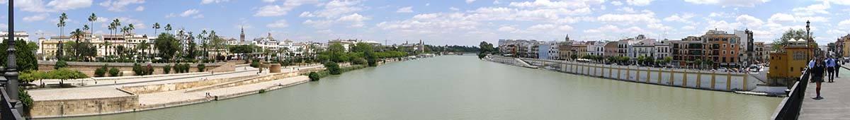 Rio Guadalquivir de Sevilla. Bufete de abogados